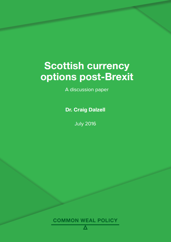A Sovereign Currency for an Independent Scotland
