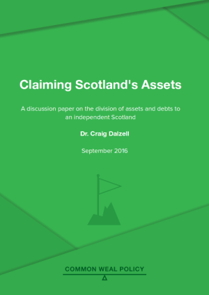 Claiming Scotlands Assets cover