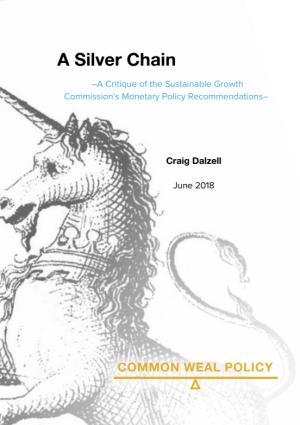 Silver Chain Cover